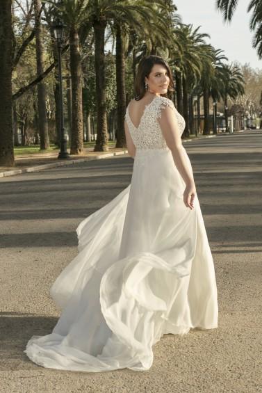 suknia ślubna LO-228T tył