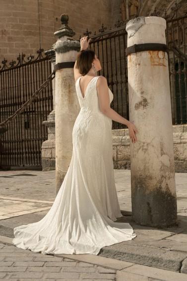 suknia ślubna LO-230TR tył