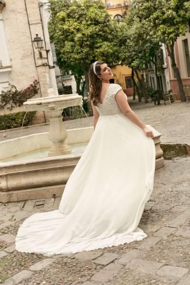 suknia ślubna LO-233T tył