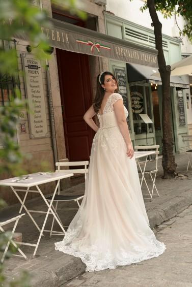 suknia ślubna LO-243T tył