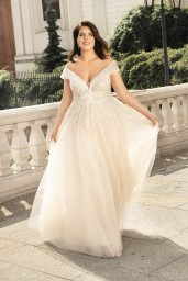 suknia ślubna LO-253 przód
