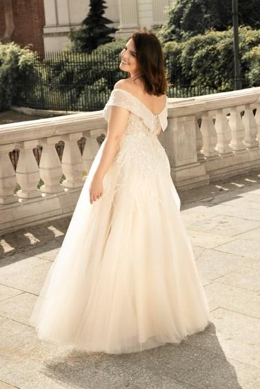 suknia ślubna LO-253 tył