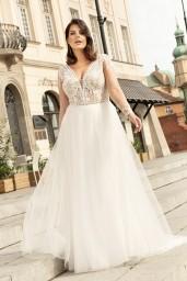 suknia ślubna LO-259T przód