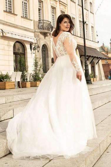 suknia ślubna LO-259T tył