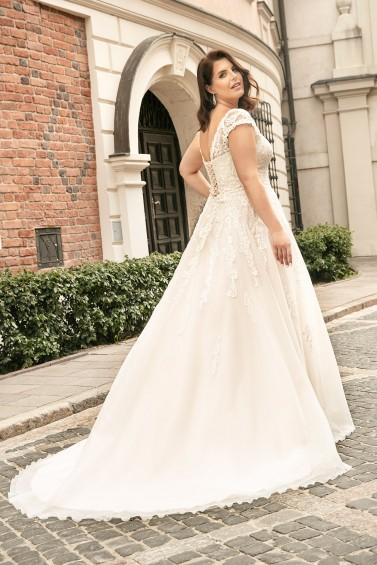 suknia ślubna LO-260T tył