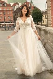suknia ślubna LO-261T przód