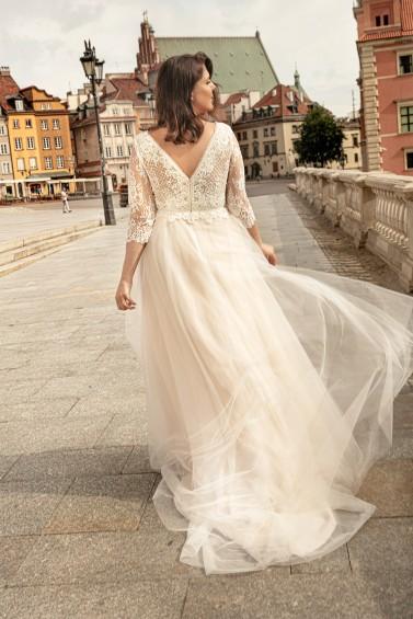 suknia ślubna LO-261T tył
