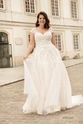suknia ślubna LO-262T przód