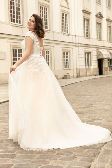 suknia ślubna LO-262T tył