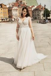 suknia ślubna LO-263T przód