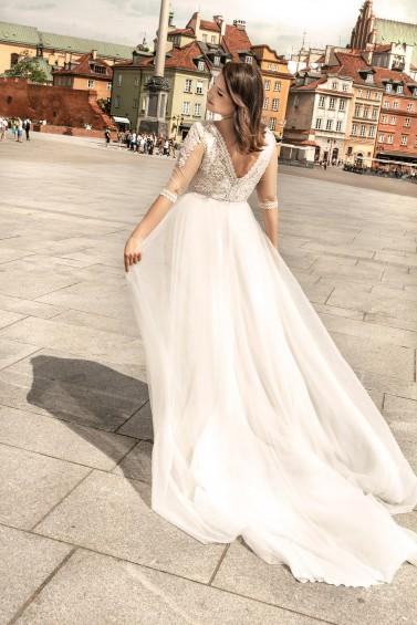 suknia ślubna LO-263T tył