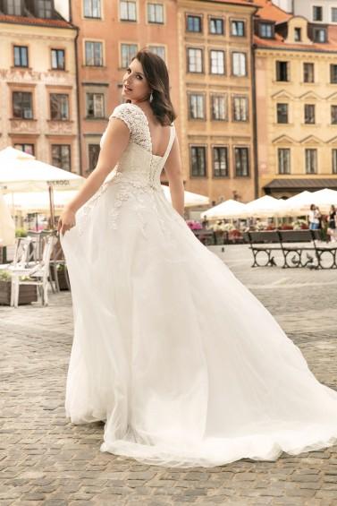 suknia ślubna LO-264T tył