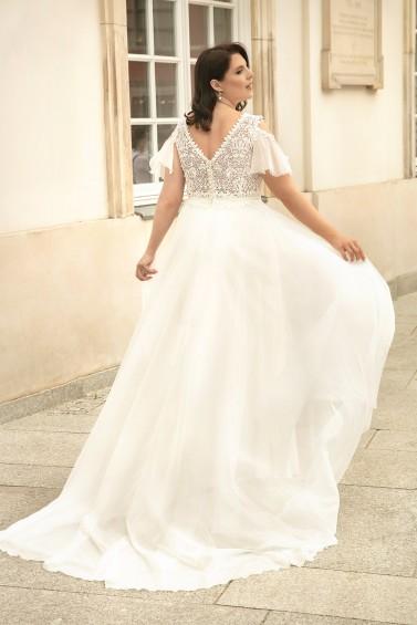 suknia ślubna LO-265T tył
