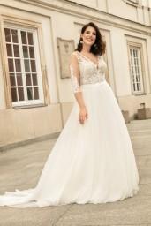 suknia ślubna LO-267T przód