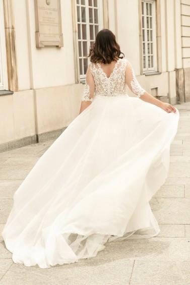 suknia ślubna LO-267T tył