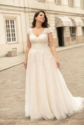 suknia ślubna LO-268T przód