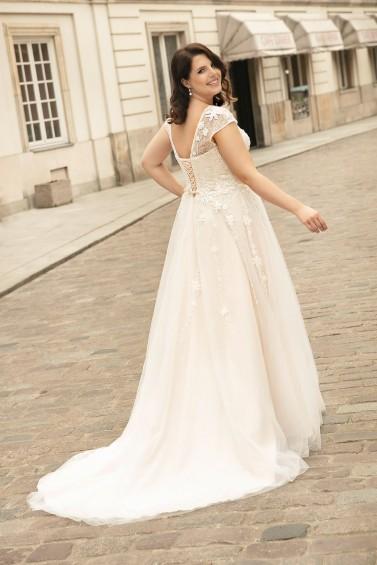 suknia ślubna LO-268T tył
