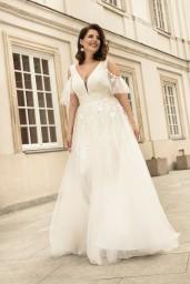 suknia ślubna LO-269T przód