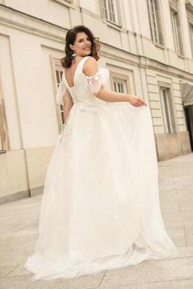 suknia ślubna LO-269T tył