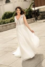 suknia ślubna LO-270T przód