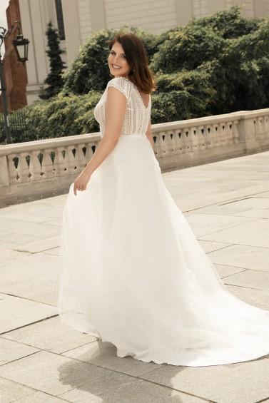 suknia ślubna LO-270T tył