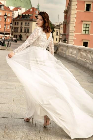 suknia ślubna LO-271T tył