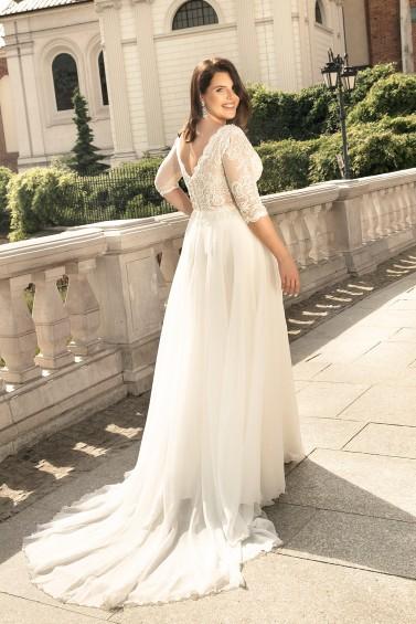suknia ślubna LO-272T tył