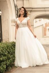 suknia ślubna LO-273T przód