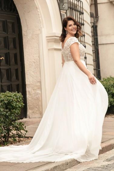 suknia ślubna LO-273T tył