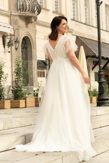 suknia ślubna LO-274T tył