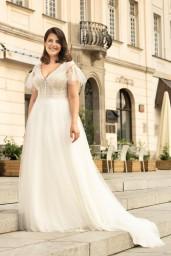 suknia ślubna LO-274T przód