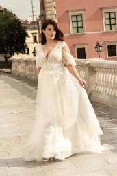 suknia ślubna LO-275T przód