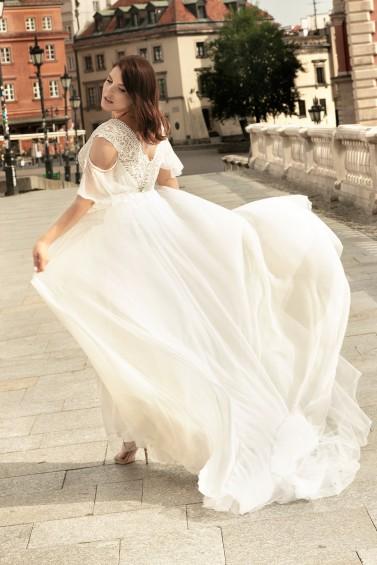 suknia ślubna LO-275T tył