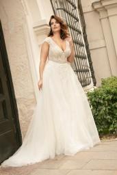 suknia ślubna LO-276T przód