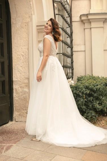 suknia ślubna LO-276T tył