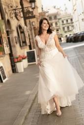 suknia ślubna LO-277T przód