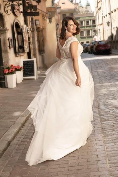 suknia ślubna LO-277T tył