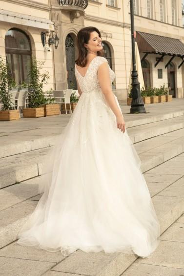 suknia ślubna LO-278T tył