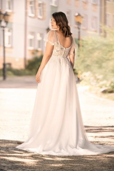 suknia ślubna LO-282T tył