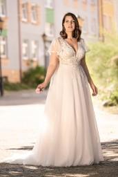 suknia ślubna LO-283T przód