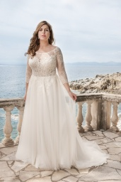 suknia ślubna LO-49T przód