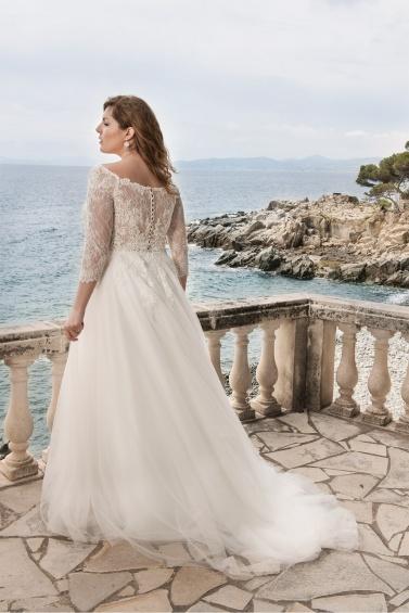 suknia ślubna LO-49T tył