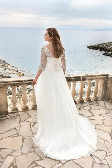 suknia ślubna LO-50T tył