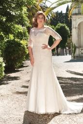 suknia ślubna LO-51T przód