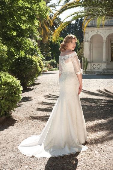 suknia ślubna LO-51T tył