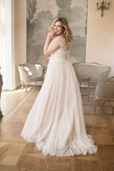 suknia ślubna LO-77T tył