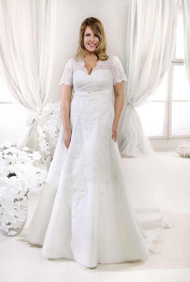 11606 Lovely 2014 Wedding Dresses Agnes Lace Wedding Dresses