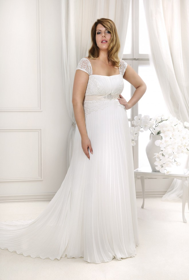 Lovely 2014 - Wedding dresses - Agnes - lace wedding dresses, Plus ...