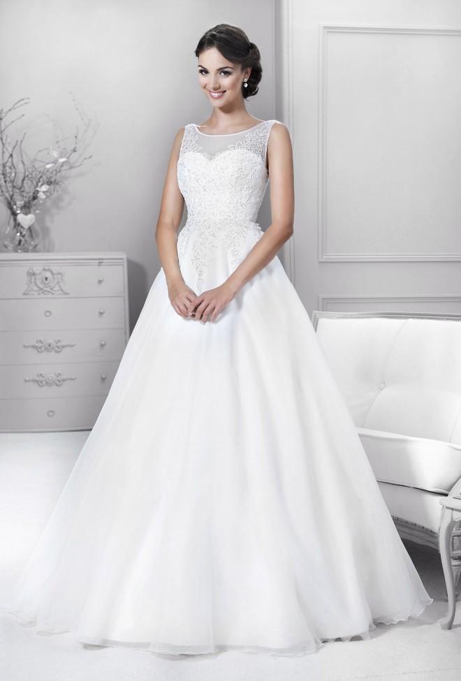 14190 Crystal Collection Kolekcja Sukni ślubnych Agnes