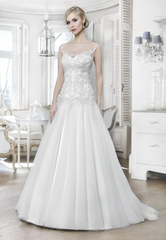 wedding dress 16024T Wyprzedaż